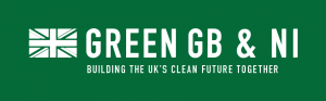 Green GB and NI Banner; Building the UK's clean future together